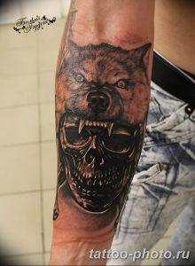 Фото рисунка тату череп 24.11.2018 №518 - photo tattoo skull - tattoo-photo.ru