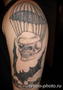 Фото рисунка тату череп 24.11.2018 №521 - photo tattoo skull - tattoo-photo.ru