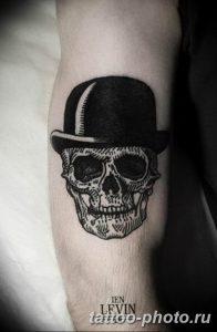 Фото рисунка тату череп 24.11.2018 №532 - photo tattoo skull - tattoo-photo.ru