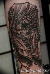 Фото рисунка тату череп 24.11.2018 №540 - photo tattoo skull - tattoo-photo.ru