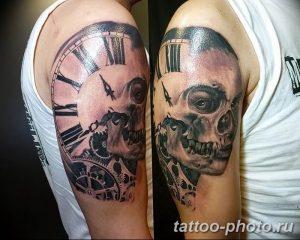 Фото рисунка тату череп 24.11.2018 №541 - photo tattoo skull - tattoo-photo.ru