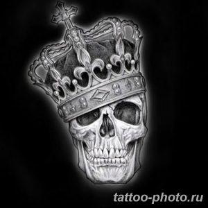 Фото рисунка тату череп 24.11.2018 №543 - photo tattoo skull - tattoo-photo.ru