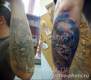 Фото рисунка тату череп 24.11.2018 №549 - photo tattoo skull - tattoo-photo.ru