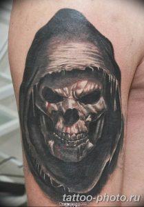 Фото рисунка тату череп 24.11.2018 №550 - photo tattoo skull - tattoo-photo.ru