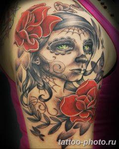 Фото рисунка тату череп 24.11.2018 №560 - photo tattoo skull - tattoo-photo.ru