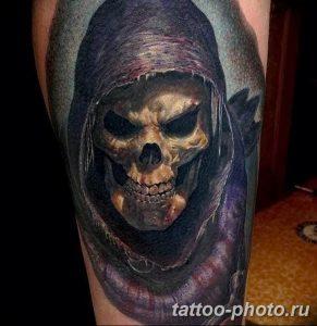 Фото рисунка тату череп 24.11.2018 №562 - photo tattoo skull - tattoo-photo.ru