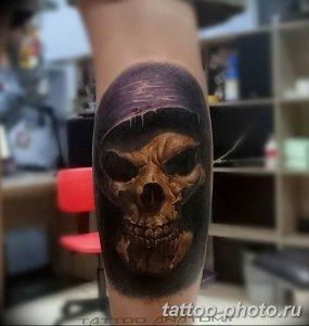 Фото рисунка тату череп 24.11.2018 №564 - photo tattoo skull - tattoo-photo.ru