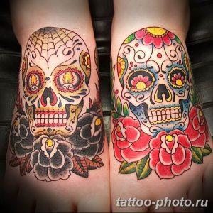 Фото рисунка тату череп 24.11.2018 №569 - photo tattoo skull - tattoo-photo.ru