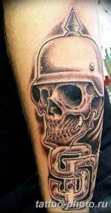 Фото рисунка тату череп 24.11.2018 №576 - photo tattoo skull - tattoo-photo.ru