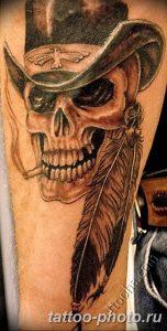 Фото рисунка тату череп 24.11.2018 №577 - photo tattoo skull - tattoo-photo.ru