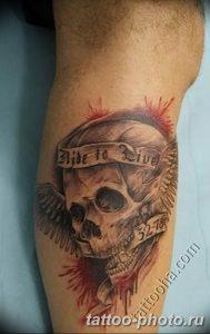 Фото рисунка тату череп 24.11.2018 №581 - photo tattoo skull - tattoo-photo.ru