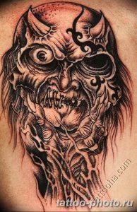 Фото рисунка тату череп 24.11.2018 №583 - photo tattoo skull - tattoo-photo.ru
