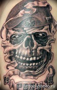 Фото рисунка тату череп 24.11.2018 №587 - photo tattoo skull - tattoo-photo.ru