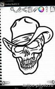 Фото рисунка тату череп 24.11.2018 №589 - photo tattoo skull - tattoo-photo.ru
