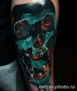 Фото рисунка тату череп 24.11.2018 №590 - photo tattoo skull - tattoo-photo.ru