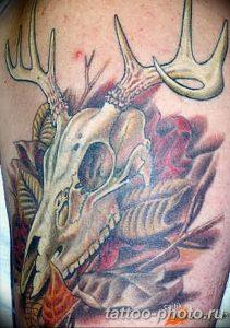 Фото рисунка тату череп 24.11.2018 №595 - photo tattoo skull - tattoo-photo.ru