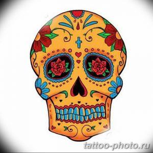 Фото рисунка тату череп 24.11.2018 №609 - photo tattoo skull - tattoo-photo.ru