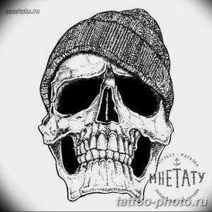 Фото рисунка тату череп 24.11.2018 №612 - photo tattoo skull - tattoo-photo.ru