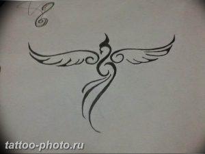фото идеи тату феникс 18.12.2018 №042 - photo ideas tattoo phoenix - tattoo-photo.ru
