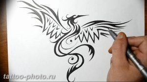 фото идеи тату феникс 18.12.2018 №619 - photo ideas tattoo phoenix - tattoo-photo.ru