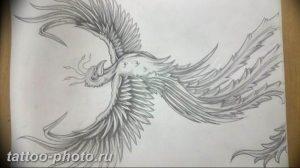 фото идеи тату феникс 18.12.2018 №645 - photo ideas tattoo phoenix - tattoo-photo.ru