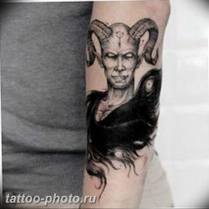 фото идея тату дьявол 18.12.2018 №005 - photo idea tattoo devil - tattoo-photo.ru