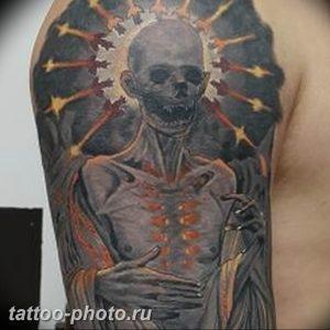 фото идея тату дьявол 18.12.2018 №038 - photo idea tattoo devil - tattoo-photo.ru