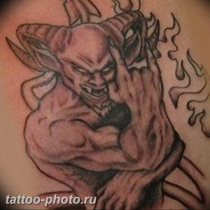 фото идея тату дьявол 18.12.2018 №050 - photo idea tattoo devil - tattoo-photo.ru