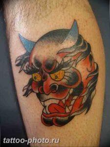 фото идея тату дьявол 18.12.2018 №066 - photo idea tattoo devil - tattoo-photo.ru