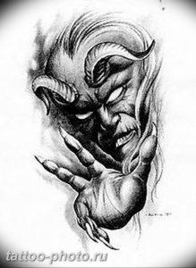 фото идея тату дьявол 18.12.2018 №067 - photo idea tattoo devil - tattoo-photo.ru