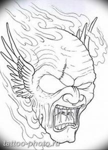 фото идея тату дьявол 18.12.2018 №094 - photo idea tattoo devil - tattoo-photo.ru