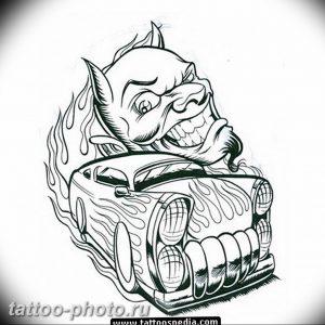 фото идея тату дьявол 18.12.2018 №108 - photo idea tattoo devil - tattoo-photo.ru