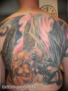 фото идея тату дьявол 18.12.2018 №120 - photo idea tattoo devil - tattoo-photo.ru