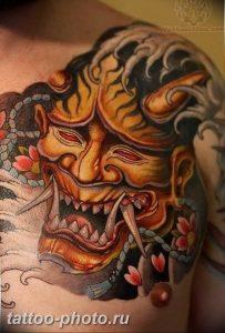 фото идея тату дьявол 18.12.2018 №121 - photo idea tattoo devil - tattoo-photo.ru