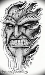 фото идея тату дьявол 18.12.2018 №143 - photo idea tattoo devil - tattoo-photo.ru
