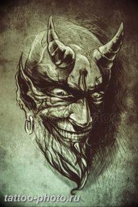фото идея тату дьявол 18.12.2018 №153 - photo idea tattoo devil - tattoo-photo.ru