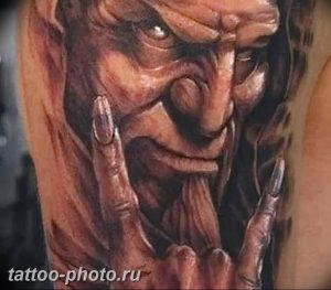 фото идея тату дьявол 18.12.2018 №155 - photo idea tattoo devil - tattoo-photo.ru