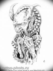 фото идея тату дьявол 18.12.2018 №163 - photo idea tattoo devil - tattoo-photo.ru