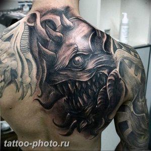 фото идея тату дьявол 18.12.2018 №164 - photo idea tattoo devil - tattoo-photo.ru