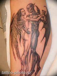 фото идея тату дьявол 18.12.2018 №175 - photo idea tattoo devil - tattoo-photo.ru