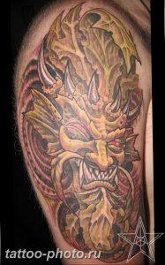 фото идея тату дьявол 18.12.2018 №180 - photo idea tattoo devil - tattoo-photo.ru
