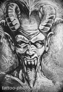 фото идея тату дьявол 18.12.2018 №194 - photo idea tattoo devil - tattoo-photo.ru