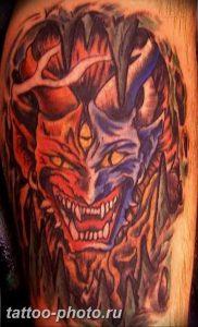 фото идея тату дьявол 18.12.2018 №197 - photo idea tattoo devil - tattoo-photo.ru