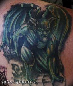 фото идея тату дьявол 18.12.2018 №231 - photo idea tattoo devil - tattoo-photo.ru