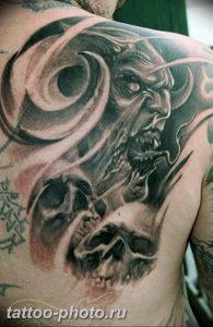 фото идея тату дьявол 18.12.2018 №236 - photo idea tattoo devil - tattoo-photo.ru
