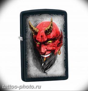 фото идея тату дьявол 18.12.2018 №247 - photo idea tattoo devil - tattoo-photo.ru