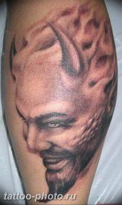 фото идея тату дьявол 18.12.2018 №250 - photo idea tattoo devil - tattoo-photo.ru