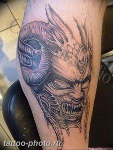 фото идея тату дьявол 18.12.2018 №260 - photo idea tattoo devil - tattoo-photo.ru
