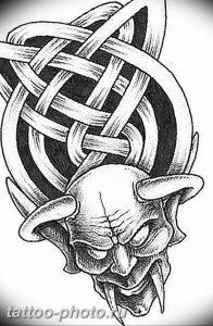 фото идея тату дьявол 18.12.2018 №262 - photo idea tattoo devil - tattoo-photo.ru