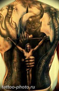 фото идея тату дьявол 18.12.2018 №265 - photo idea tattoo devil - tattoo-photo.ru